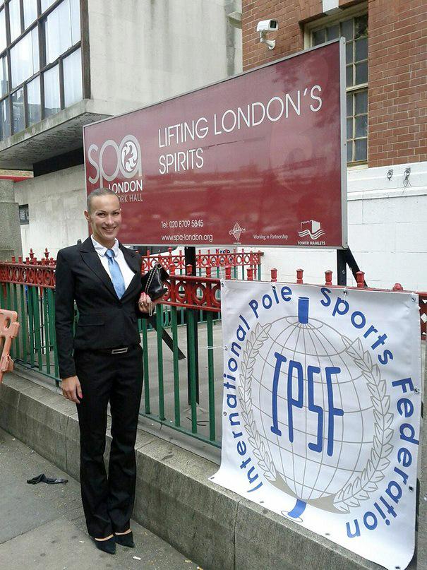 Катерина Гостевских - судья IPSF - pole dance