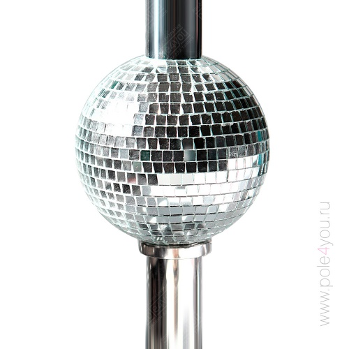 DISCO BALL 4 POLE - диско шар для пилона